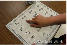 Little Minds at Work: RTI & Guided Reading {Nonsense Words Activities} and a FREEBIE