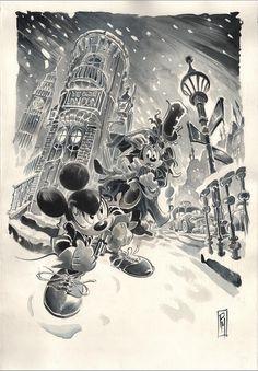 Dylan Top by Paolo Mottura Disney Art, Disney Movies, Walt Disney, Disney Characters, Disney Italia, Animated Cartoon Characters, Duck Tales, Old Cartoons, Mickey And Friends