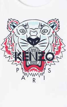 Discover the KENZO KIDS collection: sweatshirts, t-shirts, dresses, skirts, trousers and original accessories for children. Cellphone Wallpaper, Iphone Wallpaper, Versace Wallpaper, Tiger Wallpaper, Kenzo Kids, Bedroom Wall Collage, Hypebeast Wallpaper, Tiger T Shirt, Dope Art