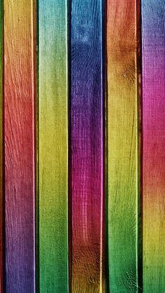 Bois coloré  (image pour  iPhone 5s)