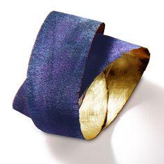 """AnnaMaria Zanella - ring """"Il giorno e la notte"""", 1998 Gold, Oxydation"""