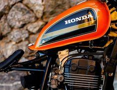"Honda ""Aggressor by Lucky Custom Cafe Racer Honda, Cafe Racer Bikes, Cafe Racers, Bike Bmw, Moto Bike, Custom Motorcycles, Custom Bikes, Bike Wagon, Female Samurai"