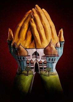 Amazing Hand Painting Illusion by Ray Massey and Annie Ralli Hot Body Paint, Hand Kunst, Web Design, Hand Art, Hand Painting Art, Painting Videos, Paint Designs, Optical Illusions, Photo Art