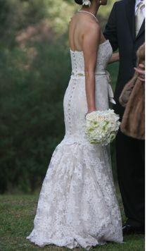 13 Best Lace Dress Bustles Images Wedding Dresses Dresses Lace