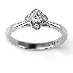 Ofera-i in dar un inel cu diamant si ea iti va oferi toata dragostea ei! Aur, Heart Ring, Engagement Rings, Jewelry, Design, Enagement Rings, Bijoux, Heart Rings, Engagement Ring