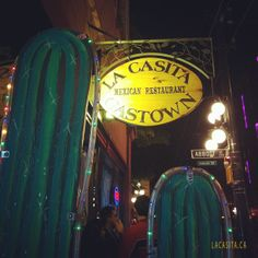 Amazing dinnertime adventure #gastown #mexican  Source: instagram.com/jessievs  La Casita Gastown Mexican Food Restaurant 101 West Cordova str, V6B 1E1 Vancouver, BC, CANADA Phone: 604 646 2444 Email: info@lacasita.ca http://lacasita.ca
