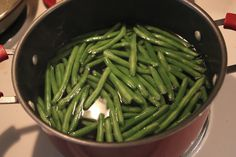 The Lady Okie: How to Cook Fresh Green Beans