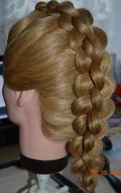 38 Best 4 Strand Braid Hairstyles Images Braid Hair Braid Hair