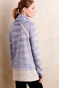 Cowled Spacedye Pullover - anthropologie.com