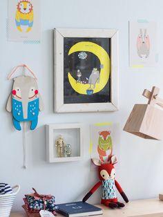 Adorable baby boy's nursery by @Holly Becker