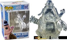 NEW Inside Out's Clear Bing Bong POP Vinyl  - Visit http://popvinyl.net/news/new-inside-outs-clear-bing-bong-pop-vinyl/ for more information - #funko #popvinyl #Funkopop #funkoshop #toy #vinyl #bobblehead