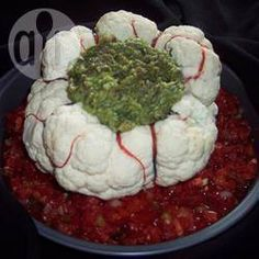 Halloween Brain Avocado Dip @ allrecipes.com.au