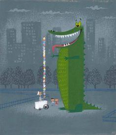 [Dinosaur]  by Amanda Visell