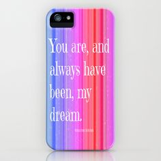Nicholas Sparks Notebook quote on IPhone Case. #Love #Need