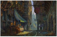 """""""The Hunchback of Notre Dame""""  by Michael Humphries*  Backgrounds 