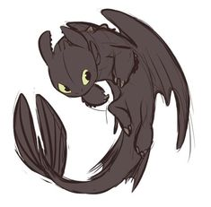 The Alpha alpha alfa dragon toothlessdragon toothless chimuelo chimuelodragon httyd ceatd howtotrainyourdragon comoentrenaratudragon Toothless Sketch, Toothless Tattoo, Cute Toothless, How To Draw Toothless, Hiccup And Toothless, Httyd Dragons, Cute Dragons, Toothless Wallpaper, Night Fury Dragon