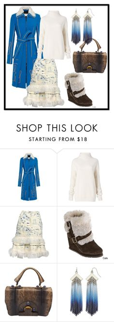 """0036"" by en-sh ❤ liked on Polyvore featuring Peter Pilotto, Diane Von Furstenberg, John Galliano, Fendi and Nicole By Nicole Miller"