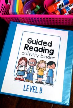Take the guesswork out of GUIDED READING! Step-by-step lessons and activities for each reading level. Makes it so easy.