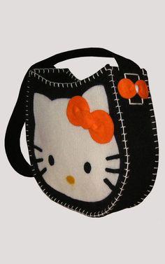 questionediborse: Feltro...Hello Kitty bag!!!