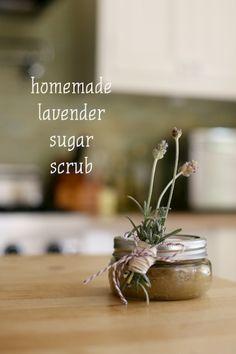 Lavender Sugar Scrub DIY for Teacher Appreciation Week my.life.at.playtime.