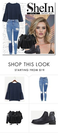 """Untitled #524"" by istrijana ❤ liked on Polyvore featuring Topshop and Whiteley"