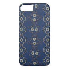 Blue examined iPhone 8/7 case - blue gifts style giftidea diy cyo