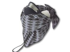 Respro® Bandit™ Scarf - Grey Diamond http://www.respro.com/products/sports-leisure/road-racing-touring/bandit_mask/