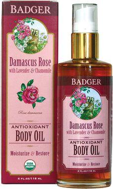 Damascus Rose Antioxidant Body Oil