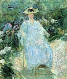 """John Henry Twachtman (1853-1902), """"In the Sunlight"""""""