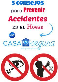 Consejos para prevenir accidentes en el hogar