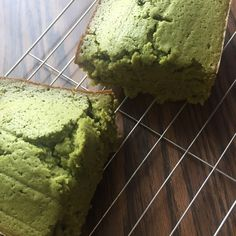 The Matcha Cake recipe creates a moist, dense green tea cake with an outside that has a great crunch to it.