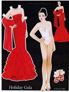 Sydney Chase Paper doll - Yakira Chandrani - Picasa Web Albums