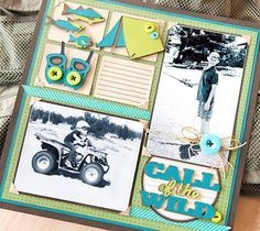 baby and kids scrapbook layouts - Google Search