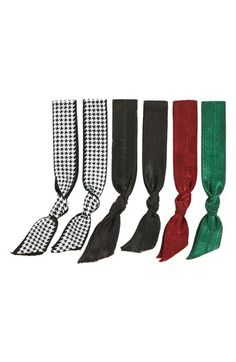 Emi-Jay 'Holiday & Houndstooth' Hair Ties (6-Pack) ($13 Value) available at #Nordstrom