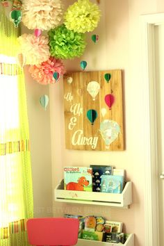 Hot Air Balloon Wall Art - Just Between Friends