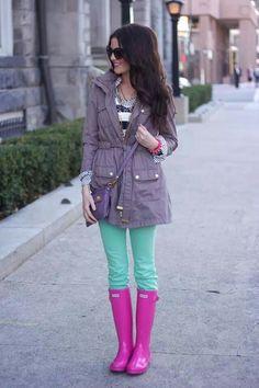 Rain boots ♥
