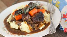 This beef and stout stew recipe is classic British pub fare. Consider it the British cousin of Boeuf Bourguignon. Get the recipe at PBS Food.