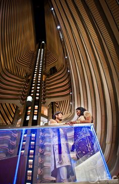 One of our favorite things to do when entering the Atlanta Marriott Marquis is look up. This gorgeous hotel hoffers a variety of conference rooms and event spaces, not to mention a luxurious spa.