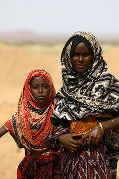 Afar Danakil.  from Eritrea  © Eric Lafforgue  www.ericlafforgue.com