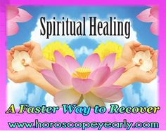 Spiritual Healing - A Faster Way to Recover - Our body is prone to fall sick if we do not take proper care and neglect the warning signs given by the body. Just like you take medicines to restore your physical health back,spiritual healing helps in bringing the mind on the healthier grounds as well. Spiritual healing is one of the substitute medication techniques that many people in the world have confidence in. It is trusted that ... Learn More: http://www.horoscopeyearly.com/spiritual-healing/