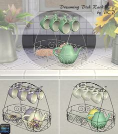 A Sims 4 Blog NEW LOVELY OBJECT FOR SIMS KITCHEN IN THREE RECOLORS
