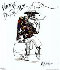Loose, cool natural lines Ralph Steadman