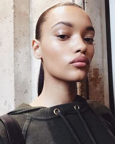 Lameka Fox - Instagram: @lamekafox Hometown: Washington, D.C. Discovered on Instagram by entering IMG's We Love Your Genes contest, Lameka Fox has moved on from training horses with her family to walking for the biggest designers on earth. After spending the Spring 2017 season on the runway for Stella McCartney, Yeezy, Miu Miu, and more, Fox is ready for her Victoria's Secret close-up.