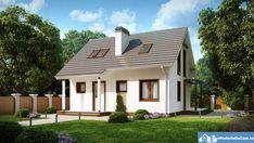 Proiecte de case, Proiecte de case mici | Proiect casa parter mansarda #212012 Stairways, Beautiful Homes, House Plans, Pergola, Scale, Floor Plans, Outdoor Structures, House Design, Flooring