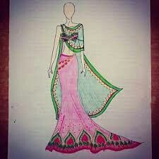 Anarkali, Lehenga, Saree, Indian Fashion, Style Fashion, Fashion Design, Fashion Sketches, Fashion Illustrations, Salwar Kameez