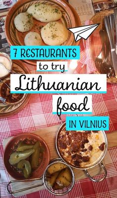 guide to Lithuanian food + where to eat in Vilnius We took a culinary tour of Lithuania's capital city to find the best Vilnius restaurants to sample authentic Lithuanian food. Food and drink Lithuania Food, Lithuania Travel, Poland Travel, Dubrovnik, Lithuanian Recipes, Croatia Travel, Italy Travel, Foods To Eat, Easy Cooking