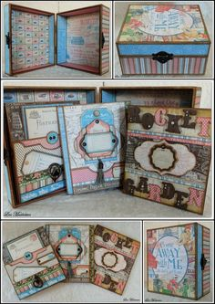 Come away with me memory box www.leasmemories.blogspot.com