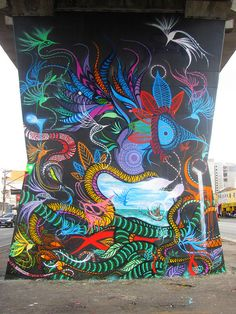 Open Museum of Urban Art/São Paulo city/Brazil