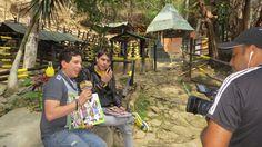 Daniel Pereira en el programa Aventura Animal transmitido por el canal venezolano La Tele @Danielpereiratm