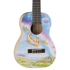 Dragon Guitar Dragon Guitar Pinterest Guitars And Dragons - Majestic dragon lizard caught playing leaf guitar indonesia